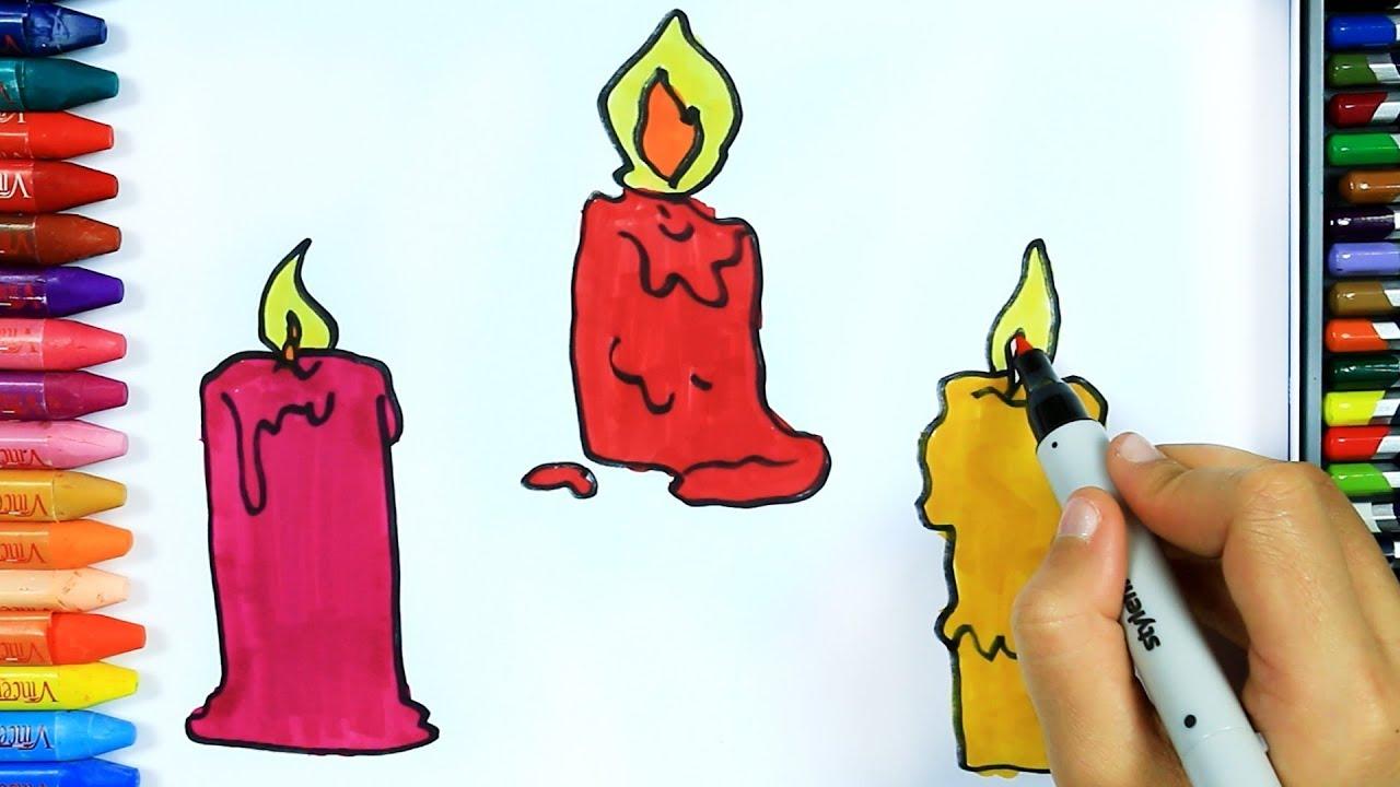 Mum Nasıl çizilir Boya Boya çizelim Boyayalım çocuklar