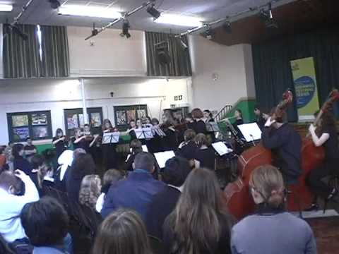 Hampshire Youth County Chamber Orchestra - Symphony in D - Mov 2 - CPE Bach