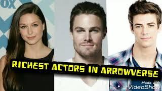 Top 10 Richest Arrowverse Actors
