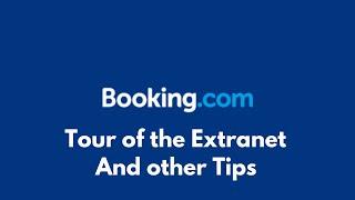 Booking.com Tour Of The Extranet - Serviced Accommodation screenshot 4