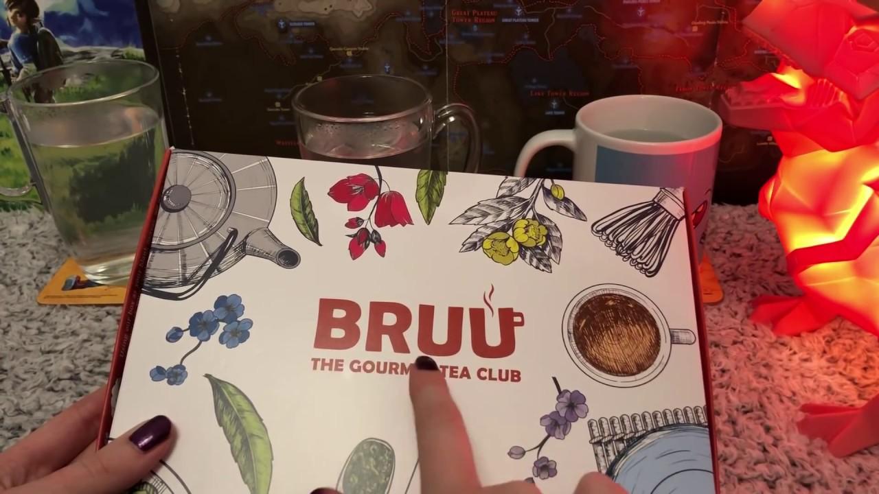 ASMR Whispered Tea Tasting (Bruu Tea)