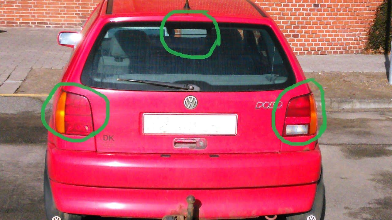 medium resolution of vw polo brake lights issue