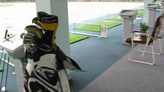 Automatic Tee Up System Driving Range in Japan (Golf)