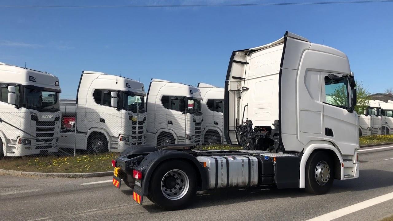 Download nyere Scania R450 til Grve Transport