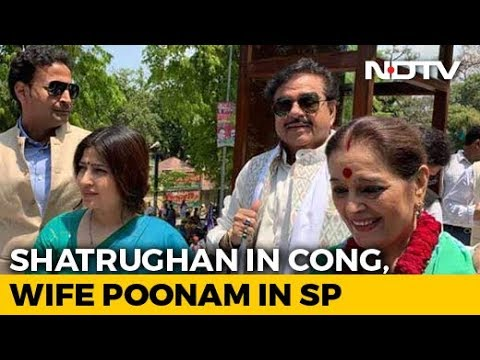 Shatrughan Sinha, Congress, Will Campaign For Wife Poonam Sinha, Samajwadi Party