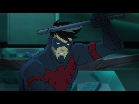 "Batman Unlimited: Animal Instincts - ""Nightwing Cheetah"" Clip"