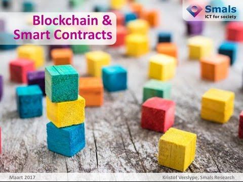 Smals Blockchain & Smart Contracts