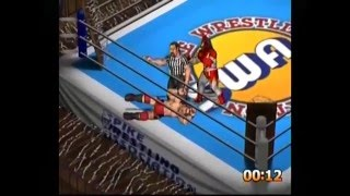 Fire Pro Wrestling D Gameplay (Sega Dreamcast) - Importable