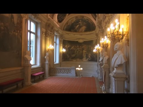 Hôtel de Ville de Bruxelles, visite de l'intérieur du bâtiment.