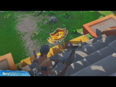 Fortnite How To Find All Season 8 Hidden Battle Stars And Banners