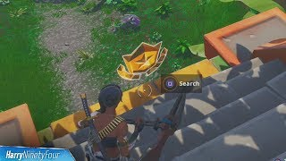 Secret Season 8 Week 3 Battlestar Location Guide (Desafíos de descubrimiento) - Fortnite Battle Royale