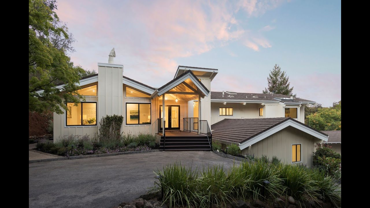 Exquisite Contemporary Home In Los Altos Hills California