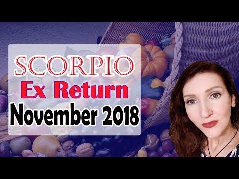 """Scorpio, """" Luck Is On Your Side"""" November 2018 Ex Return Love/soulmate Readings Jennifer Walker Zen"""
