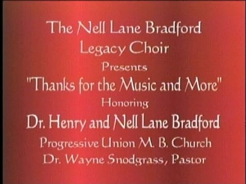 Alabama A&M University The Nell Lane Bradford Legacy Choir Part 2