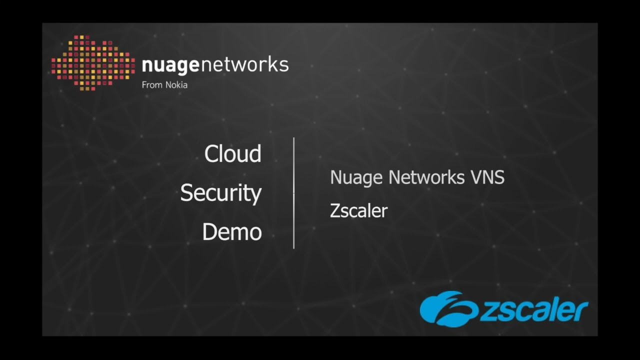 Security - Nuage Networks