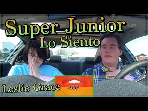 SUPER JUNIOR (슈퍼주니어) - Lo Siento (Feat. Leslie Grace) MV Reaction