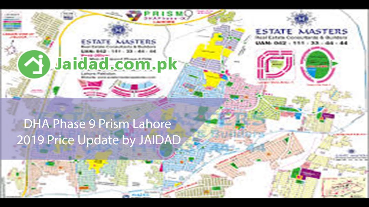 DHA 9 Prism Lahore all blocks price update may 2019 why to invest in DHA 9  Prism after Tax Amnesty?