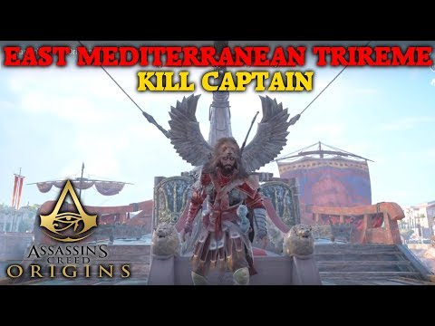 Assassin's Creed Origins - East Mediterranean Trireme - Kill Captain