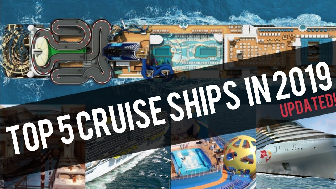 96 Best Images About Cruise Ship: TOP 5 BEST NEW CRUISE SHIPS IN 2019!