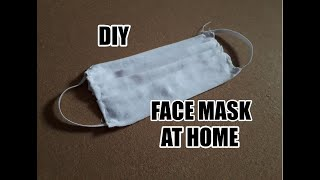 How To Make Mask At Home | DIY | Kako napraviti Masku kod kuće