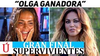 """""""Va a ganar"""" Inesperado comunicado sobre Olga Moreno y Supervivientes antes de la final"""