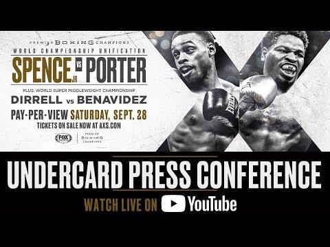 Spence vs Porter - Undercard Press Conference FULL BROADCAST