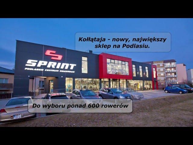 Sprint Podlaskie Centrum Rowerowe - No to jedziemy!