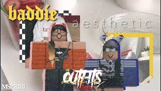 aesthetic roblox outfits [ baddie themed ]