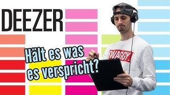 Deezer im Test | Wie schlägt sich der Musik-Streaming Anbieter Deezer im Test?