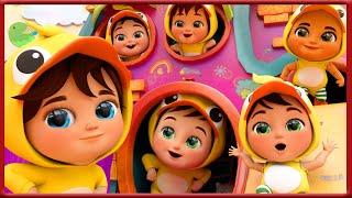 🔴 Baby Shark , Six Little Ducks Song, Wheels on the Bus , Happy Birthday Song - Banana Cartoon
