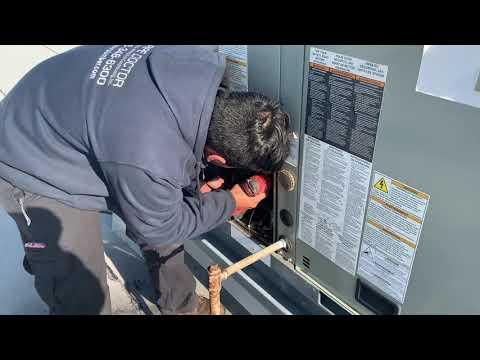 American Standard Trane YSC060 Rooftop Gas Unit No Heat