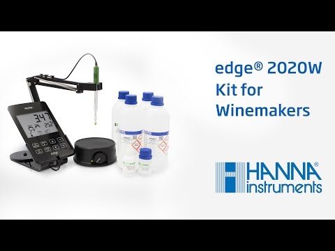How To Measure The PH Of Your Wine With The HI2020W Edge® PH Meter Kit For Wine Makers