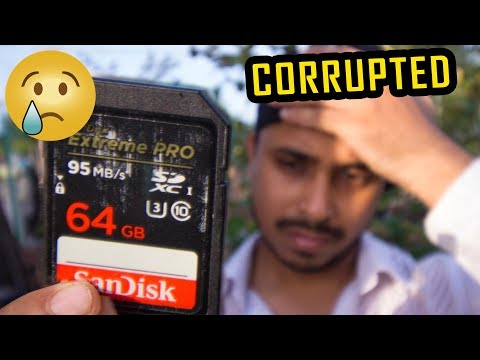 How Recover Deleted Photos, Videos From CORRUPTED SD Card  🔥🔥🔥