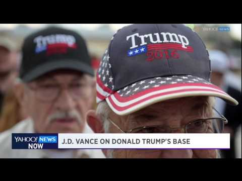 Yahoo News Now: Author J.D. Vance on his book, Trump, and the