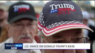 Yahoo News Now: Author J.D. Vance on his book, Trump, and the 'alt-right' movement
