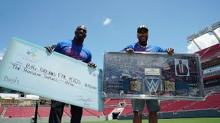 Titus O'Neil hosts the 4th Annual Back to School Bash in Tampa, Fla.
