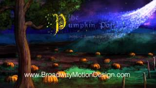 Cinderella Scenic Projections: Act 1, Scene 5: The Pumpkin Patch