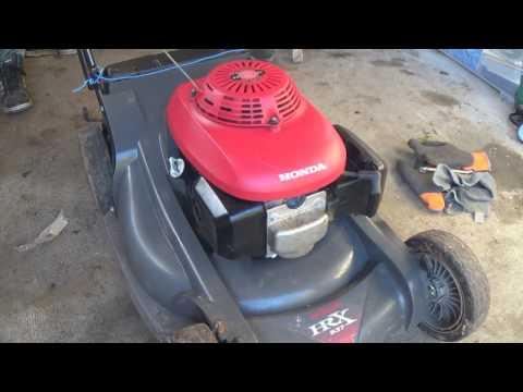 Comment hiverné ça tondeuse à moteur Honda ( GCV 135,140,160,190)