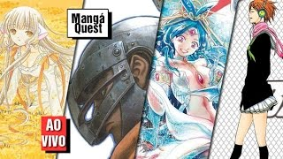 Mangá Quest - Chobits 04, Berserk 06, Magi 13, Kuroko no Basket 13