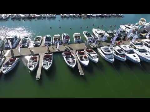 Моторные катера Bella Boats на выставке яхт и катеров на воде «Uiva 2016 Flytande»