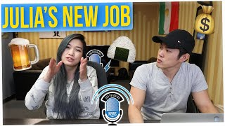 Off The Record: Julia Tells Us About Her New Job!