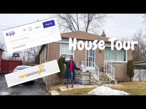 1200$/month House Tour | Found A House In Canada