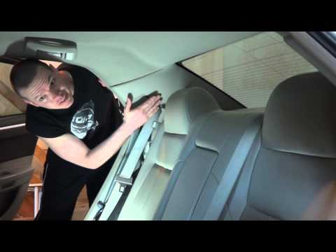 Chrysler 300 Rear Deck Removal