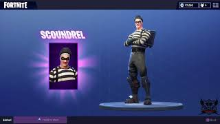 Fortnite buying the Raven skin + 11,100 V-Bucks shopping spree