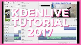 Kdenlive Tutorial - Free Video Editor For YouTube