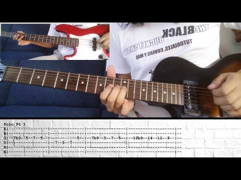 Lo Hi The Black Keys Cover Tutorial Guitar Bass Tabs Chords