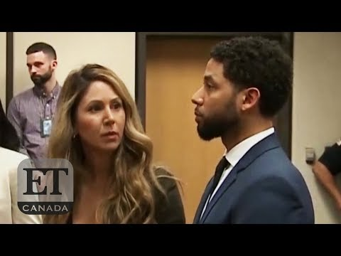 Jussie Smollett In Court For Plea Hearing
