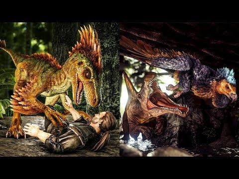 TLC Pass 2: Argentavis, Parasaur, Raptor, Sarcosuchus, Spinosaur, & Triceratops!