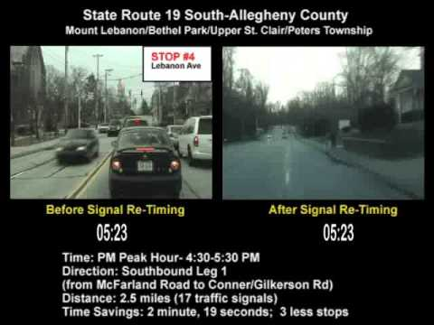 State Route 19 (South) SINC-UP Project (Allegheny County) PM Peak Southbound Leg 1