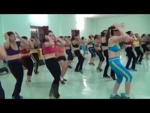 aerobics the duc tham my Trâm Anh
